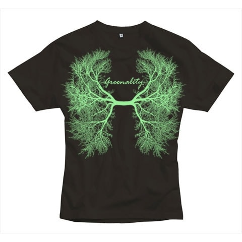 Greenality Shirt: Green Lung