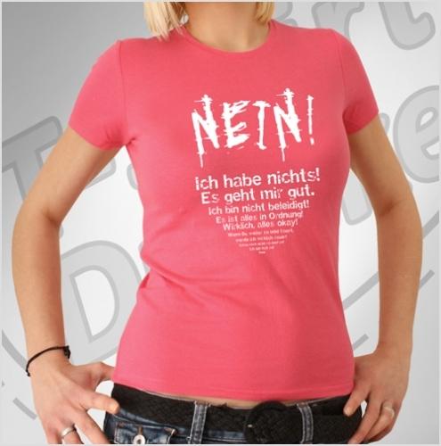 T-Shirt: Nein!