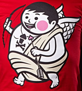 Johnny Cupcakes Valentine Shirt 2010