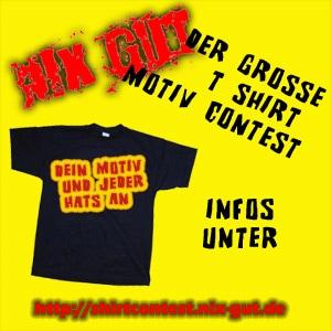 nix-gut T-Shirt-Contest