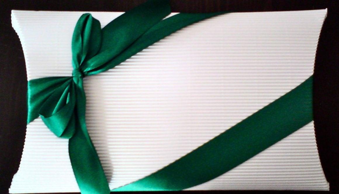 Die Geschenkverpackung…