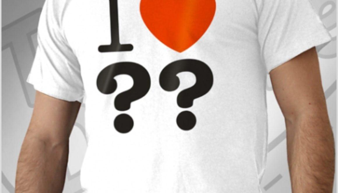 Shirt: I ♥ ??