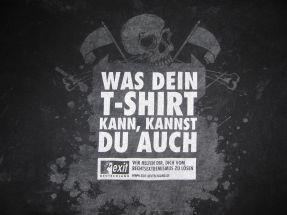 Trojanisches T-Shirt: …und nach der Wäsche