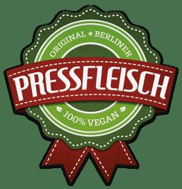 Pressfleisch. 100% Vegan.