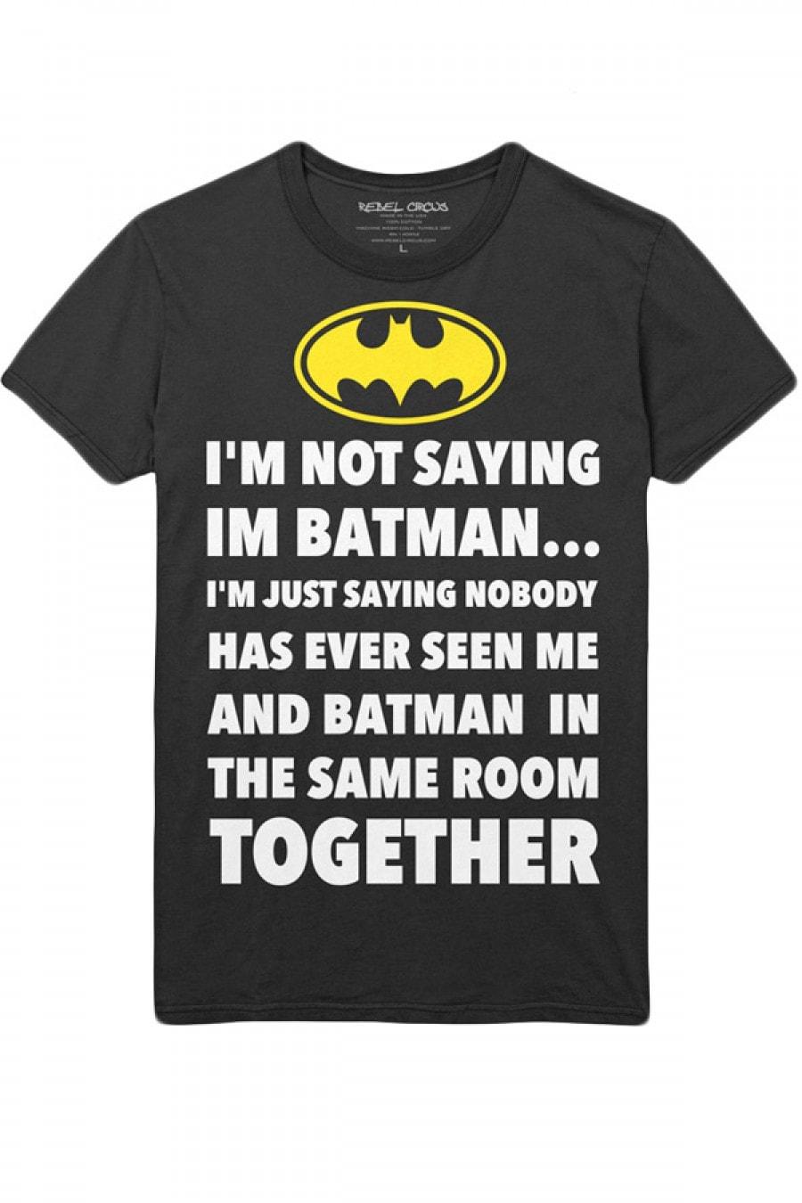 Ich behaupte nicht, dass ich Batman bin…