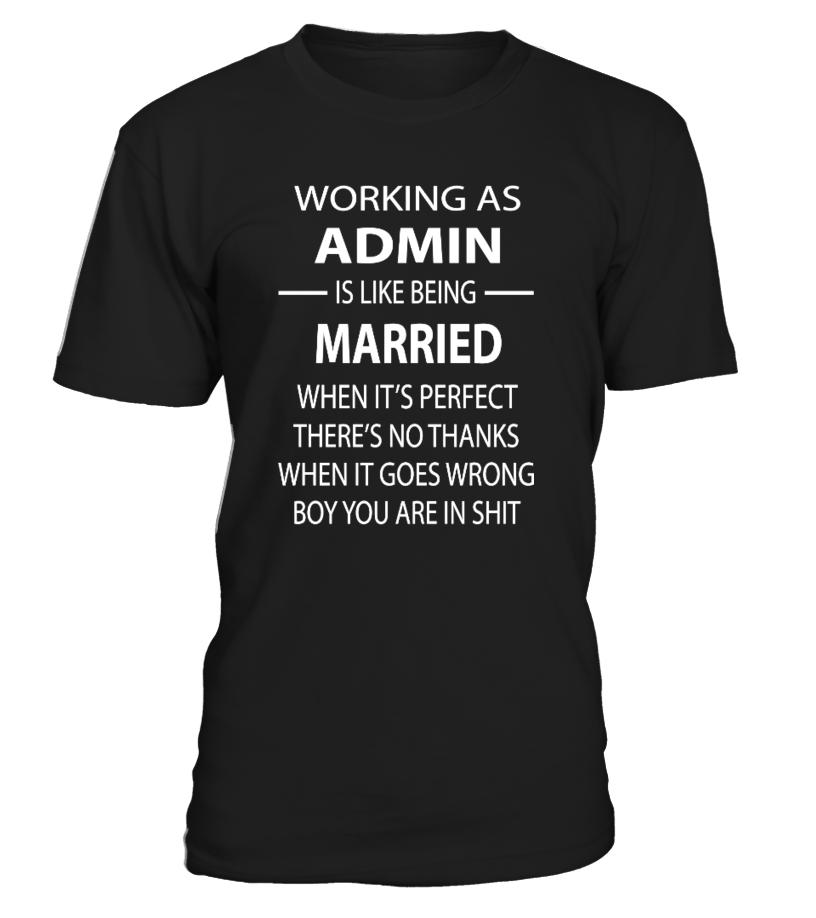 Verheiratete Admins sind doppelt gearscht